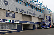 Barry Kitchener stand at Millwall before the Shrewsbury Town game for the Sky Bet League 1 match at The Den, London<br /> Picture by Richard Brooks/Focus Images Ltd 07947656233<br /> 10/12/2016