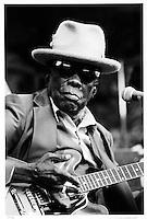 John Lee Hooker, Santa Cruz Blues Festival, 1996