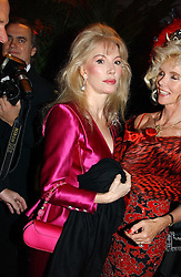 Left to right, DONATELLA FLICK and COUNTESS GUNILLA VON BISMARCK at Andy & Patti Wong's Chinese New Year party to celebrate the year of the Rooster held at the Great Eastern Hotel, Liverpool Street, London on 29th January 2005.  Guests were invited to dress in 1920's Shanghai fashion.<br /><br />NON EXCLUSIVE - WORLD RIGHTS