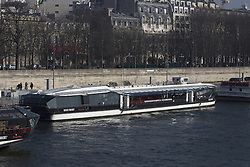 General view of Le Jean Bruel, Bateaux Mouches, Paris where Jessica Minh Anh hold her Winter Fashion Show 2017 on Thursday January 26, 2017