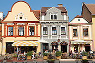 Town Square K?szeg Hungary .<br /> <br /> Visit our HUNGARY HISTORIC PLACES PHOTO COLLECTIONS for more photos to download or buy as wall art prints https://funkystock.photoshelter.com/gallery-collection/Pictures-Images-of-Hungary-Photos-of-Hungarian-Historic-Landmark-Sites/C0000Te8AnPgxjRg