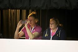 Werner Nicole, Ruiter Vanessa, (NED) <br /> Training session<br /> Reem Acra FEI World Cup™ Dressage Finals <br /> Las Vegas 2015<br />  © Hippo Foto - Dirk Caremans<br /> 15/04/15