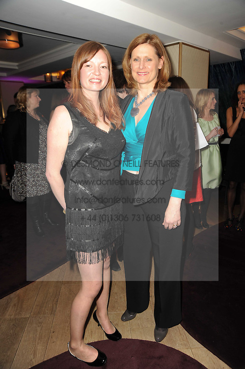 Left to right, LORNA KNAPMAN and SARAH BROWN at a party to promote Marie Claire magazine Inspire & Mentor Campaign held at The Loft, The Ivy Club, West Street, London on 30th March 2010.