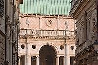 SCORCIO DELLA BASILICA PALLADIANA (architetto Andrea Palladio 1549), VICENZA, VENETO, ITALIA