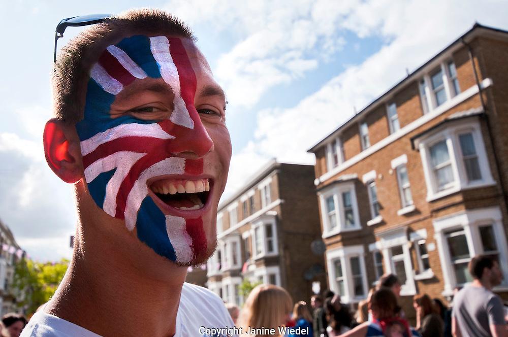 Queens Diamond  Jubilee celebrations in London June 2012