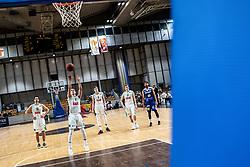 Jan Špan of KK Petrol Olimpija during basketball match between Basketball - KK Petrol Olimpija Ljubljana and KK Sixt Primorska in Round #7 of Liga Nova KBM za prvaka 2018/19, on April 11th, 2019 in Hala Tivoli, Slovenia Photo by Matic Ritonja / Sportida
