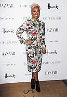 LONDON - OCTOBER 31: Emeli Sande attended the Harper's Bazaar Women of the Year Awards at Claridge's Hotel, London, UK. October 31, 2012. (Photo by Richard Goldschmidt)