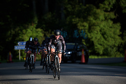 Alice Barnes leads Drops Cycling at the Crescent Vargarda - a 42.5 km team time trial, starting and finishing in Vargarda on August 11, 2017, in Vastra Gotaland, Sweden. (Photo by Sean Robinson/Velofocus.com)