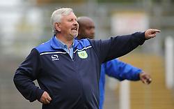Yeovil manager Paul Sturrock gives orders.  - Mandatory byline: Alex Davidson/JMP - 07966 386802 - 10/10/2015 - FOOTBALL - Huish Park - Yeovil, England - Yeovil v Dagenham - Sky Bet League Two