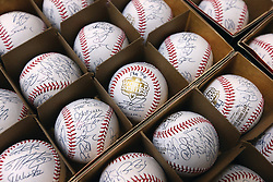Autographed baseballs, 2012 World Series Champion Giants
