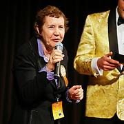 NLD/Hilversum/20110208 - Prins Willem Alexander aanwezig bij de Gouden Apenstaarten 2011, Tineke Netelenbos