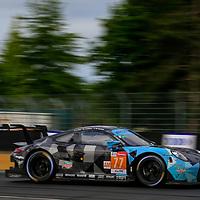 #77, Dempsey Proton Racing, Porsche 911 RSR, LMGTE Am, driven by: Christian Ried, Julien Andlauer, Matt Campbell, 24 Heures Du Mans  2018, , 17/06/2018,