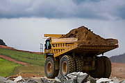 Jeceaba_MG, Brasil...Construcao de uma usina siderurgica em Jeceaba...The construction of the steel industry in Jeceaba...Foto: BRUNO MAGALHAES / NITRO