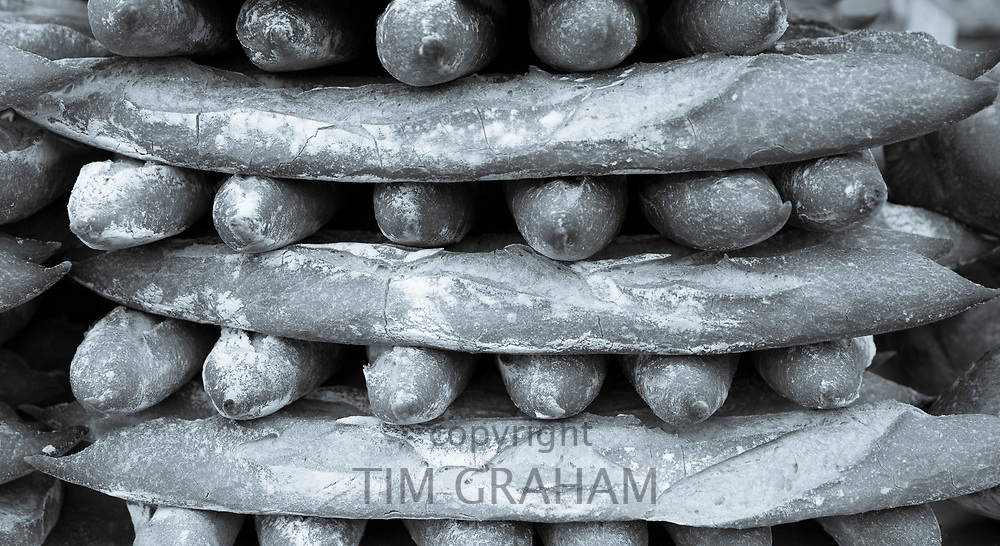 FINE ART PHOTOGRAPHY by Tim Graham<br /> FOOD - Fresh-baked Baguettes