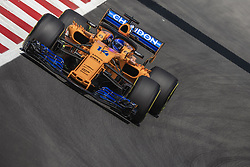 May 11, 2018 - Barcelona, Catalonia, Spain - FERNANDO ALONSO (ESP) drives during the first practice session of the Spanish GP at Circuit de Catalunya in his McLaren MCL33 (Credit Image: © Matthias Oesterle via ZUMA Wire)