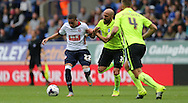 Bolton Wanderers striker Alves Wellington Silva attacks during the Sky Bet Championship match between Bolton Wanderers and Brighton and Hove Albion at the Macron Stadium, Bolton, England on 26 September 2015.