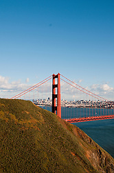 Marin Headlands; sightseeing; Golden Gate Bridge, San Francisco, California, USA.  Photo copyright Lee Foster.  Photo # california108839