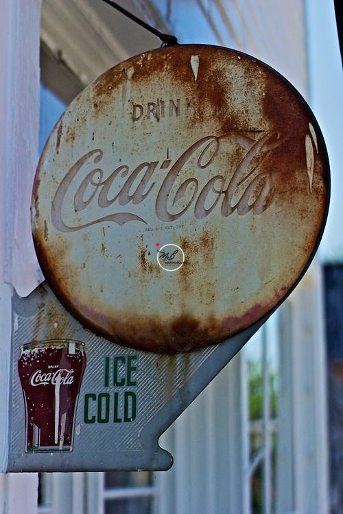 Drink Coca Cola, Vintage Sign