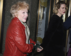 Dec. 20, 2015 - New York City, NY, USA - Sarah Paulson (R) and Holland Taylor arriving at the opening night of 'Fiddler of the Roof' at the Broadway Theatre on December 20 2015 in New York City  (Credit Image: © Nancy Rivera/Ace Pictures via ZUMA Press)