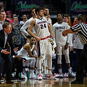 Mar 12 2019  Las Vegas, NV, U.S.A. Gonzaga head coach Mark Few upset with a refs call during the NCAA  West Coast Conference Men's Basketball Tournament championship between the Gonzaga Bulldogs and the Saint Mary's Gaels 47-60 lost at Orleans Arena Las Vegas, NV.  Thurman James / CSM