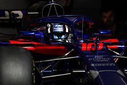 April 7, 2018 - Sakhir, Bahrain - GASLY Pierre (fra), Scuderia Toro Rosso Honda STR13, action during 2018 Formula 1 FIA world championship, Bahrain Grand Prix, at Sakhir from April 5 to 8  I  Motorsports: FIA Formula One World Championship 2018, Grand Prix of Bahrain, , #10 Pierre Gasly (FRA Toro Rosso Ferrari) (Credit Image: © Hoch Zwei via ZUMA Wire)