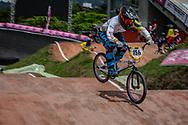 #156 (AZUERO GONZALEZ Domenica Michelle) ECU at the 2016 UCI BMX World Championships in Medellin, Colombia.
