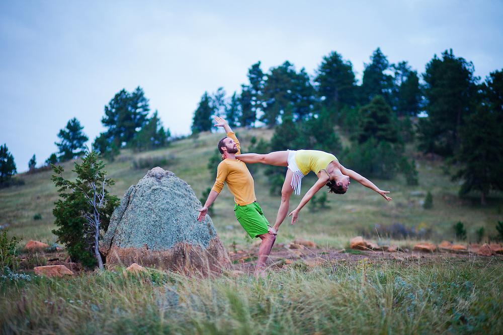 Ryan Hamity & Cassie Drew at Flat Irons, Boulder COLORADO