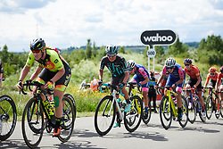 Leah Thomas (USA) at Stage 2 of 2019 OVO Women's Tour, a 62.5 km road race starting and finishing in the Kent Cyclopark in Gravesend, United Kingdom on June 11, 2019. Photo by Sean Robinson/velofocus.com