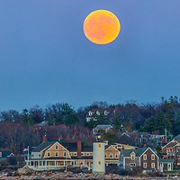 Getting this rather unique photography image of Sunday night's full Beaver Moon rising behind Annisquam Harbor Lighthouse in Gloucester Massachusetts on Cape Ann was a very long time in the making. So glad it finally all came together; a full moon, clear sky, low tide and time to head out to Wingaersheek Beach.<br />