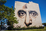 Murals in Wynwood Arts District, Miami, Florida, USA