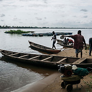 Sokpoe, V/R. 03/10/2018: Emmanuel Norivetro (58years, married with 5 children). Emmanuel is quite the entrepreneur. He is a fisherman, owns lots of boats that he rents out, owns a piggery, and manages a tilapia fish farm for someone else.