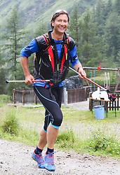 25.07.2015, Dorfertal, Kals, AUT, Grossglockner Ultra Trail, 50 km Berglauf, im Bild Martin Gratz (AUT, Kals, 39. Paltz bei Rudolfshütte) // Martin Gratz of Austria during the Grossglockner Ultra Trail 50 km Trail Run from Kals arround the Grossglockner to Kaprun. Kals, Austria on 2015/07/25. EXPA Pictures © 2015, PhotoCredit: EXPA/ Stringer
