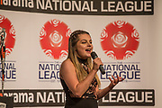 Beth Rosamund during the National League Gala Awards Evening at Celtic Manor Resort, Newport, South Wales on 9 June 2018. Picture by Shane Healey.