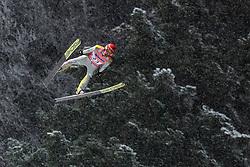 19.01.2018, Heini Klopfer Skiflugschanze, Oberstdorf, GER, FIS Skiflug Weltmeisterschaft, Einzelbewerb, im Bild Richard Freitag (GER) // Richard Freitag of Germany during individual competition of the FIS Ski Flying World Championships at the Heini-Klopfer Skiflying Hill in Oberstdorf, Germany on 2018/01/19. EXPA Pictures © 2018, PhotoCredit: EXPA/ JFK