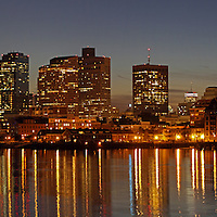 Boston Harbor Panorama photography
