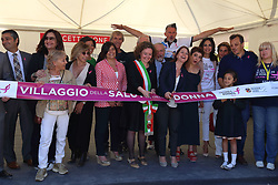 May 19, 2017 - Roma, RM, Italy - Inauguration of the Village of Health that will accompany the 18th edition of Race for the Cure in Rome. (Credit Image: © Matteo Nardone/Pacific Press via ZUMA Wire)