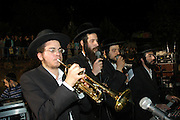 Israel, Galilee, Mount Meron, Jews praying during the lag b'omer celebrations at mount Meron. Lag B'Omer is a day for bonfire celebrations. The most famous is held at the village of Meron, near the northern city of Safed. May 2005