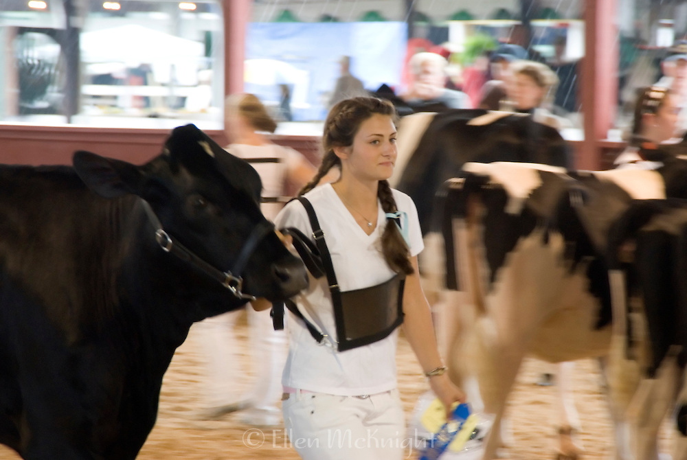 Blue Ribbon Winner at the 4H Livestock Show at the Dutchess County Fair in Rhinebeck, NY