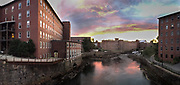 Old Textile Mill in Biddeford, Maine