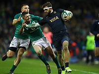 Rugby Union - 2017 Guinness Series (Autumn Internationals) - Ireland vs. Argentina<br /> <br /> Argentina's Ramiro Moyano in action against Ireland's Rob Kearney, at the Aviva Stadium.<br /> <br /> COLORSPORT/KEN SUTTON