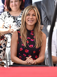 Jason Bateman honored with star on the Hollywood Walk of Fame. Hollywood, California. 26 Jul 2017 Pictured: Jennifer Aniston. Photo credit: AXELLE/BAUER-GRIFFIN / MEGA TheMegaAgency.com +1 888 505 6342