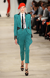 Ralph Lauren show at New York Fashion Week, Thursday, 13th September 2012. .Photo by: Stephen Lock / i-Images.