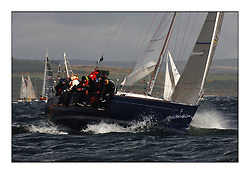 Day 2 of the Bell Lawrie Scottish Series with wild conditions on Loch Fyne for all fleets. Exhilarating and testing racing for Boats and crew...Class 4 IRL3007 Thirty Something.