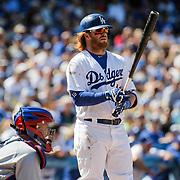 Aug 28 2016 - Los Angeles U.S. CA - LA Dodgers 3B # 10 Justin Turner up at bat during MLB game between LA Dodgers and the Chicago Cubs 1-0 win at Dodgers Stadium Los Angeles Calif. Thurman James / CSM