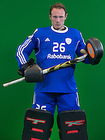 DEN BOSCH -  PIRMIN BLAAK . . Nederlands Hockeyteam  voor nieuwe platform Hockey.nl.    FOTO KOEN SUYK