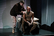New York City Opera & Long Beach Opera present FALLUJAH<br /> <br /> Directed by Andreas Mitisek<br /> Libretto by Heather Raffo<br /> Composed by Tobin Stokes<br /> <br /> Cast: <br /> LaMarcus Miller - Philip<br /> Todd Strange - Taylor<br /> Ani Maldjian - Shatha<br /> Suzan Hanson - Colleen<br /> Jonathan Lacayo - Wissam<br /> Zeffin Quinn Hollis - Kassim<br /> Arnold Livingston Geis - Corpsman    <br /> Gregorio González - Lalo <br /> Jason Switzer - Rocks