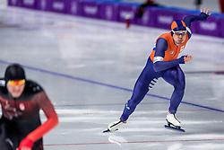 23-02-2018: Olympische Spelen: Dag 14: Pyeongchang<br /> 1000m Speedskating men / Kai Verbij