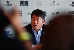 May 3, 2019 - Madrid, MADRID, SPAIN - The Supervisor of the WTA, Tony Cho, during the Mutua Madrid Open 2019 (ATP Masters 1000 and WTA Premier) tenis tournament at Caja Magica in Madrid, Spain, on April 28, 2019. (Credit Image: © AFP7 via ZUMA Wire)