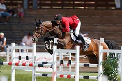 Van Gelderen Boy-Adriaan, BEL, Be Cool<br /> Young Riders European Championships Jumping <br /> Samorin 2017© Hippo Foto - Dirk Caremans<br /> 13/08/2017,