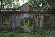 A derelict Portugese hospital in the rainforest